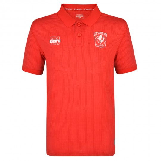 FC Twente 19-20 Players Training Poly Polo - Adult