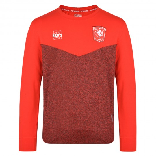 FC Twente 19-20 Players Training Crew Sweat - Kids