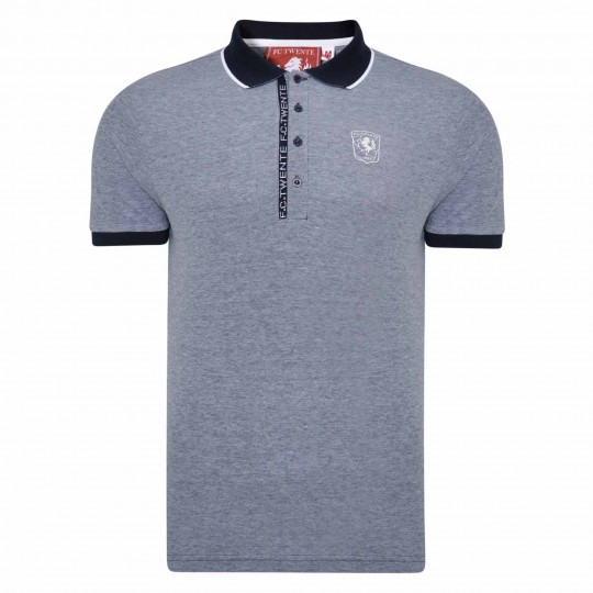 FC Twente Text Placket Polo - Adult