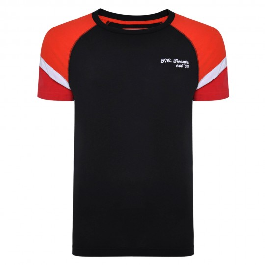 FC Twente Colour Block Raglan T-Shirt - Adult