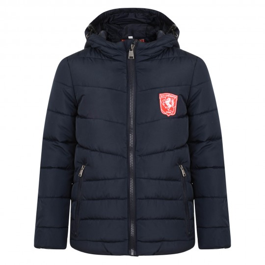 FC Twente Zip Pocket Hooded Jacket - Kids (Brompt)