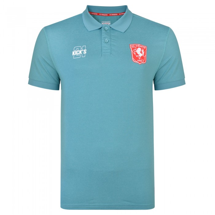 FC Twente 19-20 Matchday Training Poly Polo - Kids