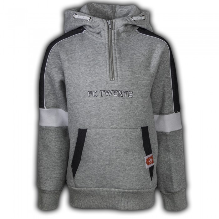 FC Twente Panel Logo Hooded Sweat Kids